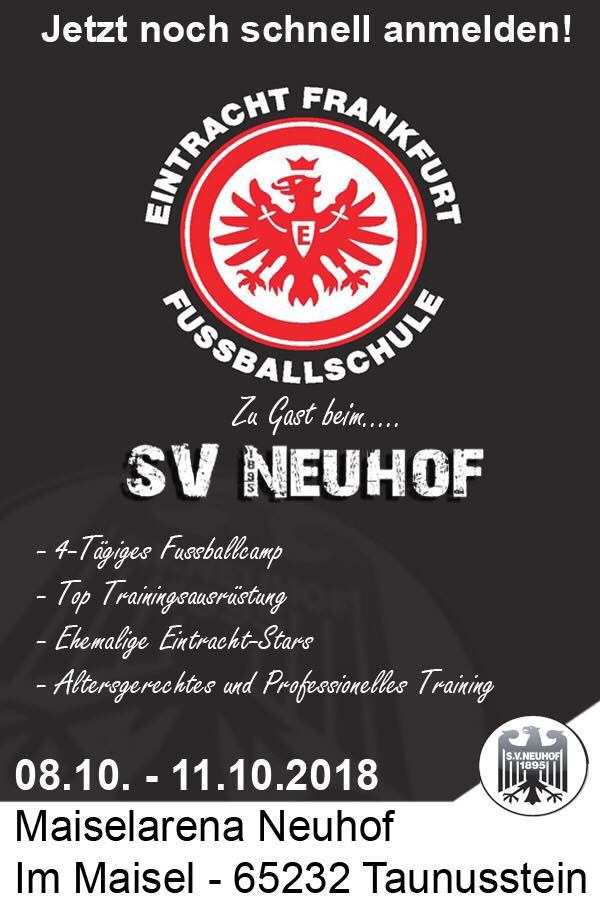 Home - Fußballabteilung des SV 1895 Neuhof